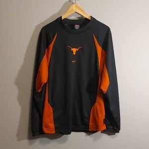 Nike team Texas Dri-fit long sleeve shirt - medium